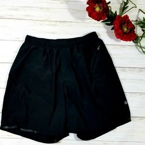 LuLuLemon Black Running Shorts M